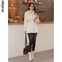 CMAZ 2020 Winter Parkas For Women Oudoor Warm Thick Hooded Jackets Fashion Long Sleeve Streetwear Fe