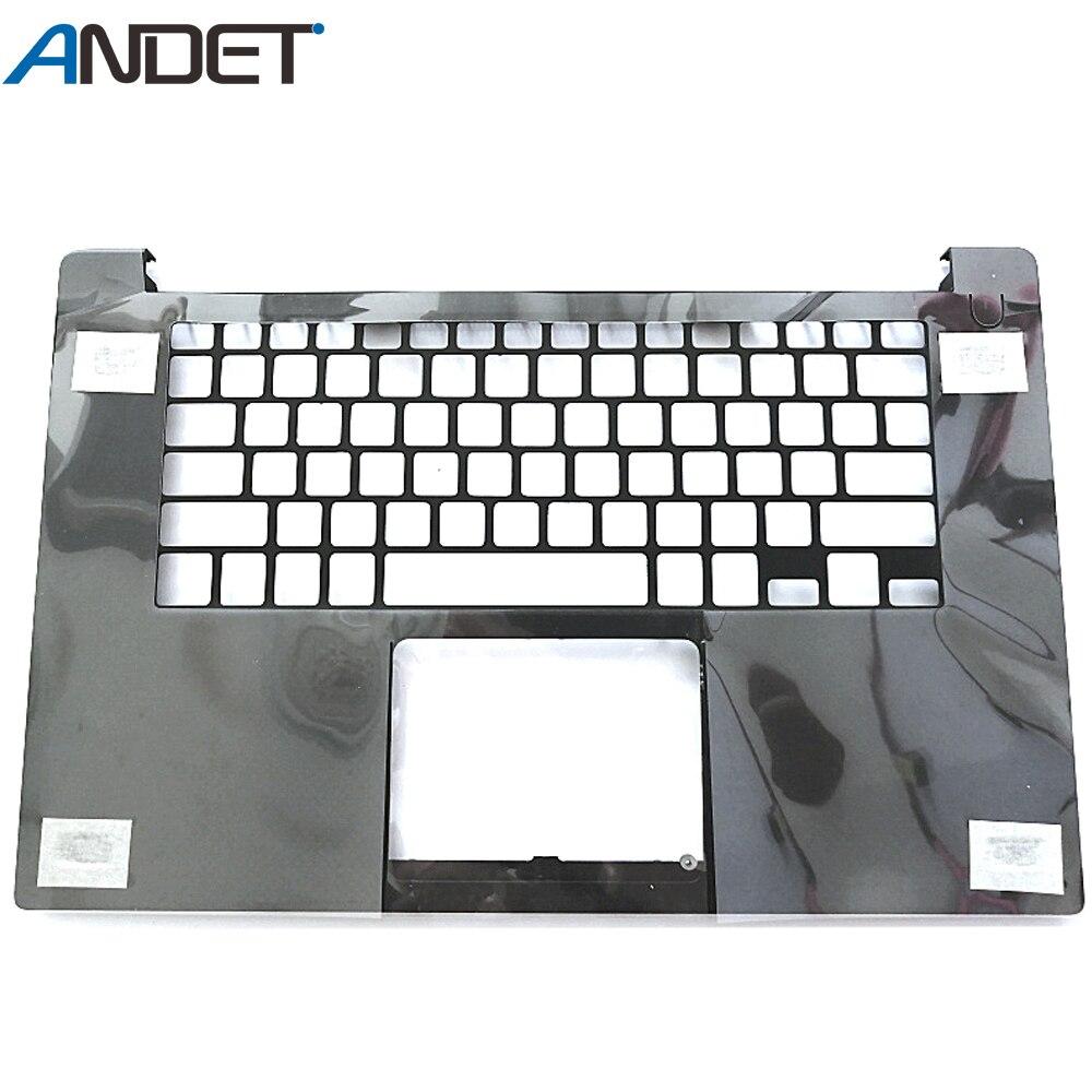 98New غطاء لابتوب لديل XPS 15 9550 M5510 Palmrest غطاء العلوي الولايات المتحدة تخطيط لوحة المفاتيح الحافة 0D6CWH D6CWH 0JK1FY