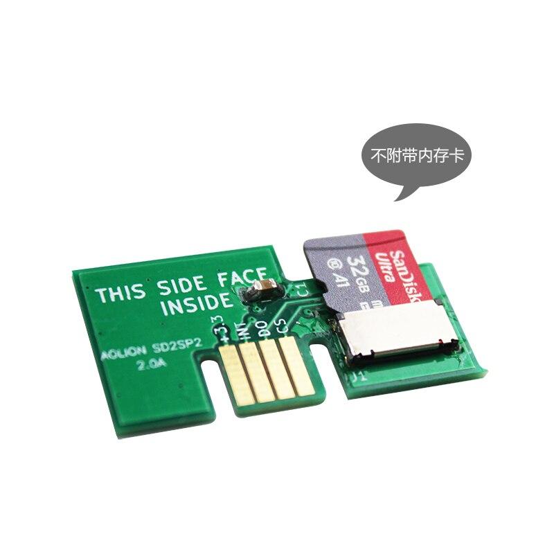 Pour Gamecube SD2SP2 v1.2a adaptateur pour serialport2 Nintendo NGC chargement rapide ISO