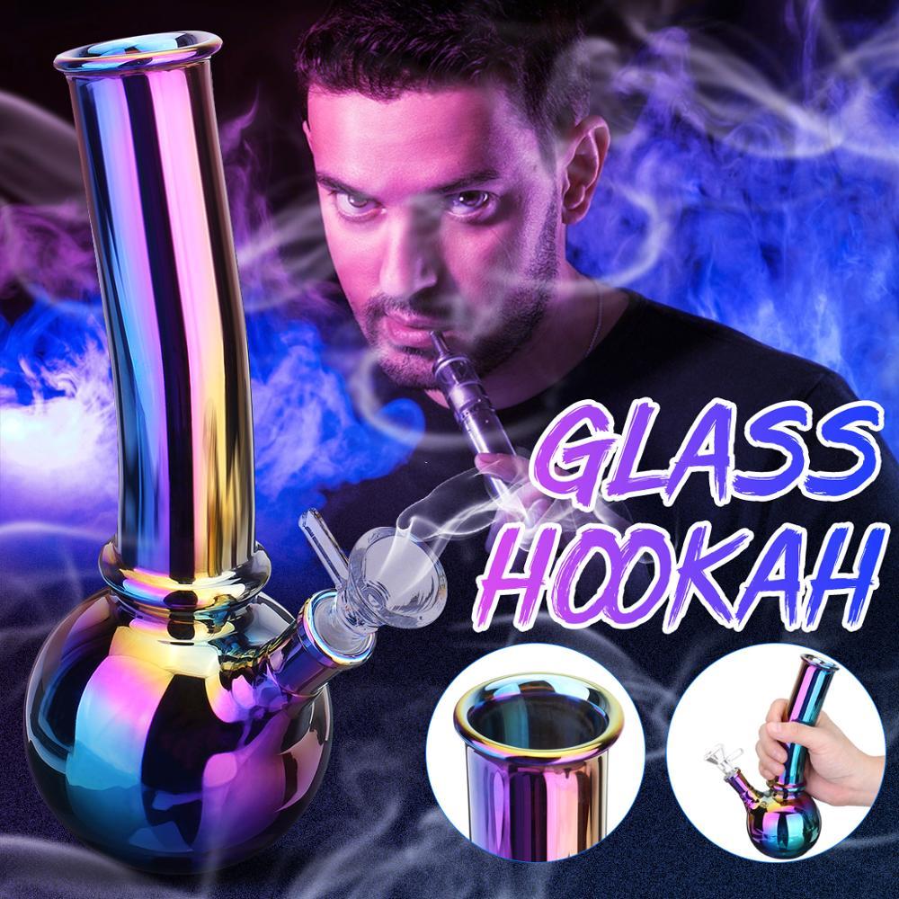 Новые стеклянные кальянные трубки, стеклянный кальян для курения, многоразовый, прочный