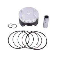 83 75mm pin 20mm motorcycle piston and piston ring kit for suzuki an400 an 400 75 oversize 0 75 0 75mm