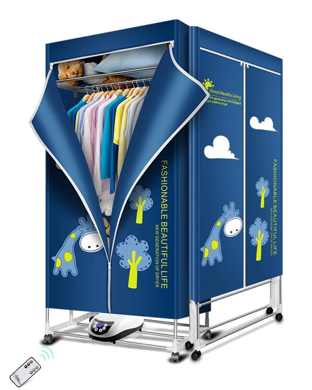 مجفف الملابس KASYDoFF المحمولة 1500 واط-1.7 متر 3-Tier طوي الملابس تجفيف الرف توفير الطاقة (أنيون) الملابس مجففات أرقام