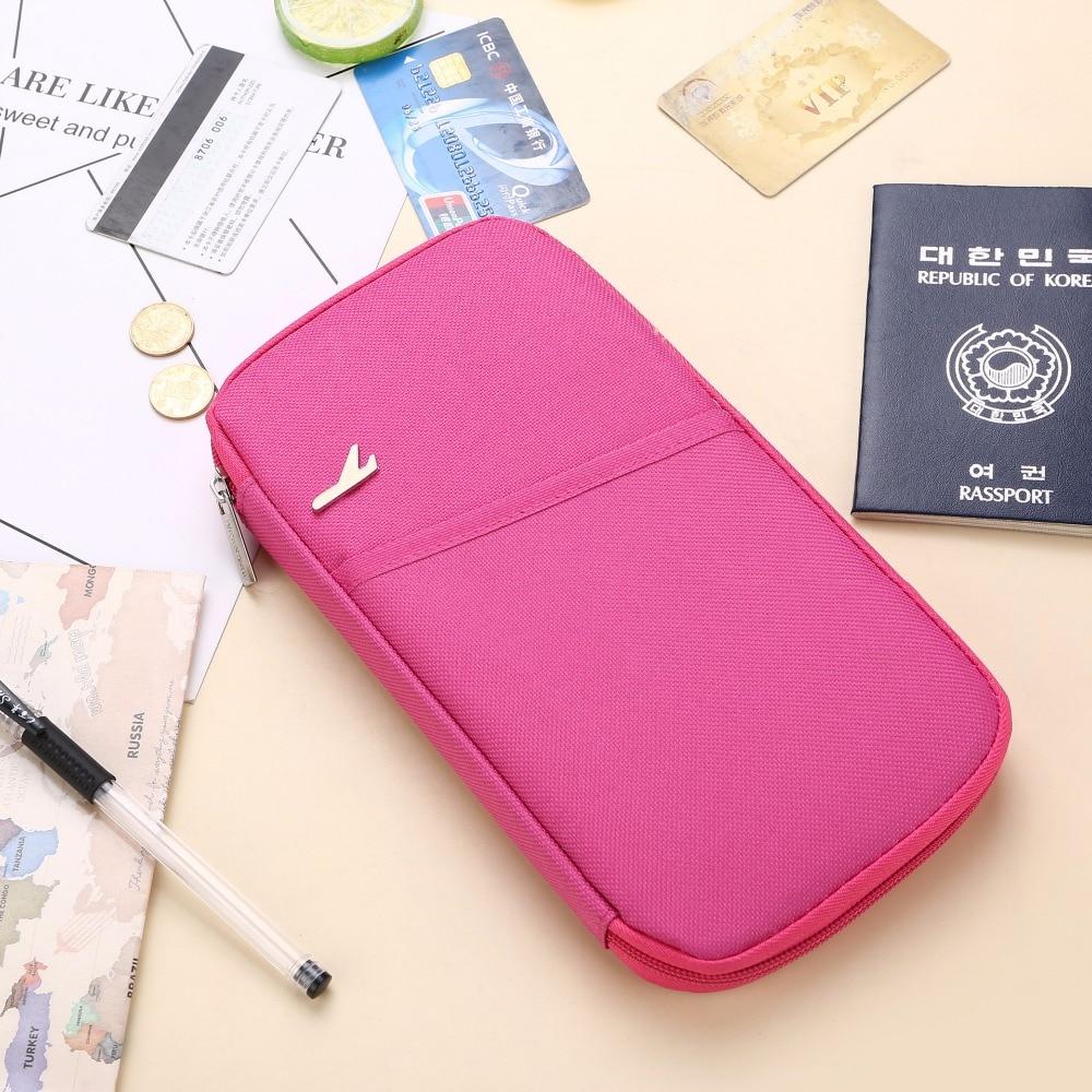 GOUSTER, funda Unisex para pasaporte de viaje para mujer y hombre, monedero con tarjetero para tarjetas de crédito, tarjetas de identificación, billetes, BILLETERA, bolsos de mano con múltiples bolsillos