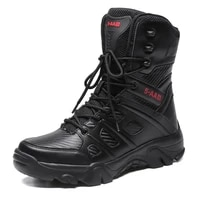 combat mens boots lightweight shockproof breathable climbing shoes wear resisting male handsome footwear autumn shoes