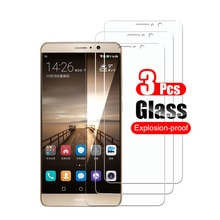 3pcs Tempered Glass for Huawei Mate 9 Screen Protector On For Huawei Mate 9 Mate9 Protective Film