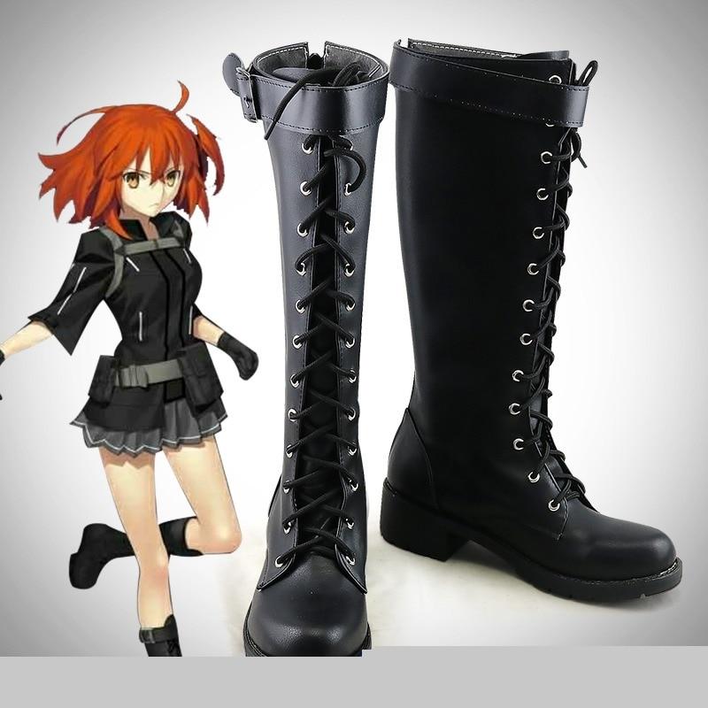 أحذية بتصميم الرسوم المتحركة للجنسين موديل FGO fujimaro Ritsuka ملابس تنكرية للرجال مصنوعة حسب الطلب