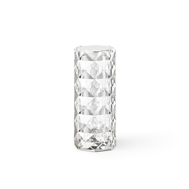 Designer Spain Diamond Night Light Bedroom Bedside Table Lamp USB Charging Atmosphere Projection Desklight Restaurant Bar Decor enlarge