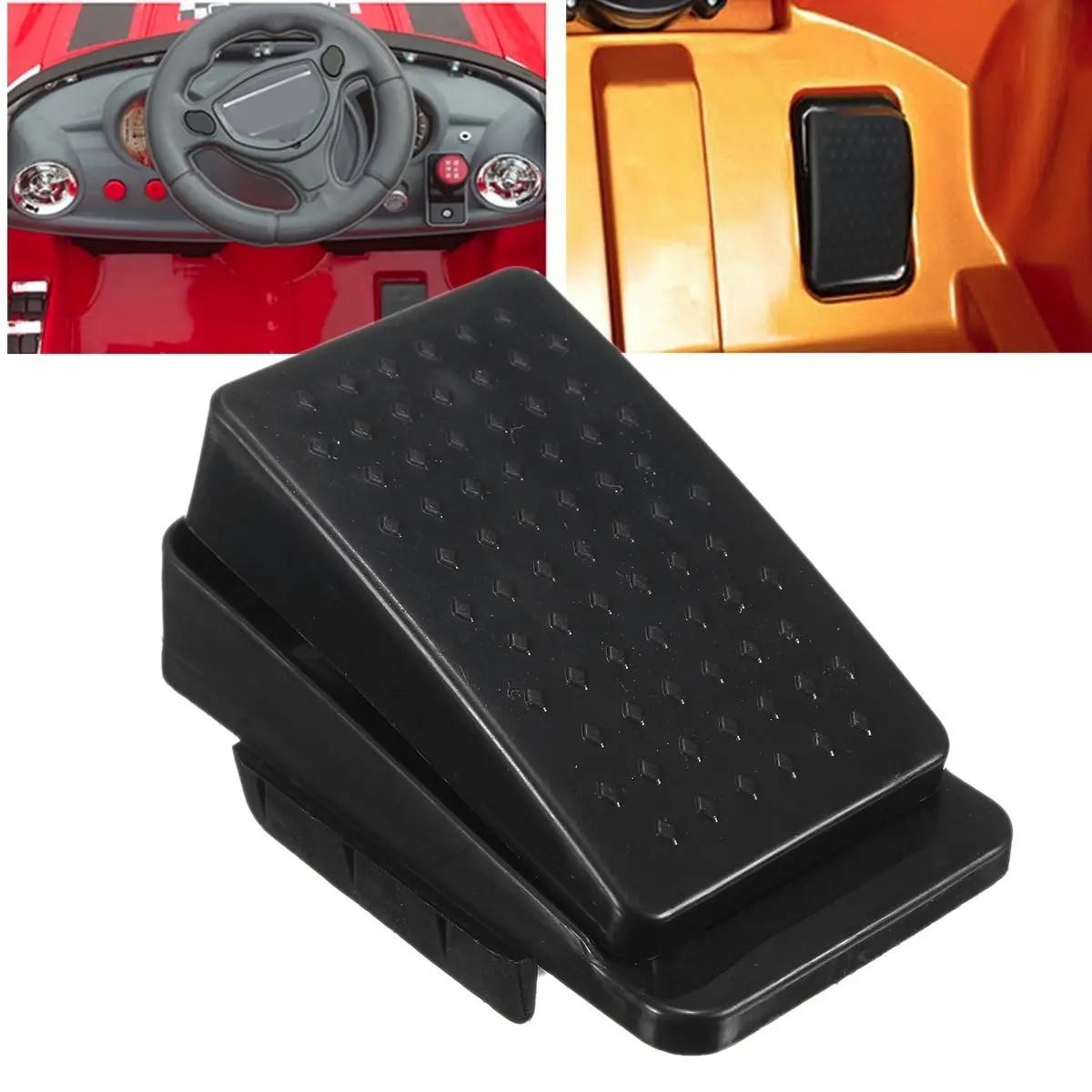Substituição 6 v/12 v crianças carrinho de carro elétrico pedal reset interruptor pé
