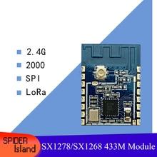 SX1280 Wireless Module LoRa Spread Spectrum 2.4G Wireless SPI Module RC Remote Control Low Power Consumption 2000