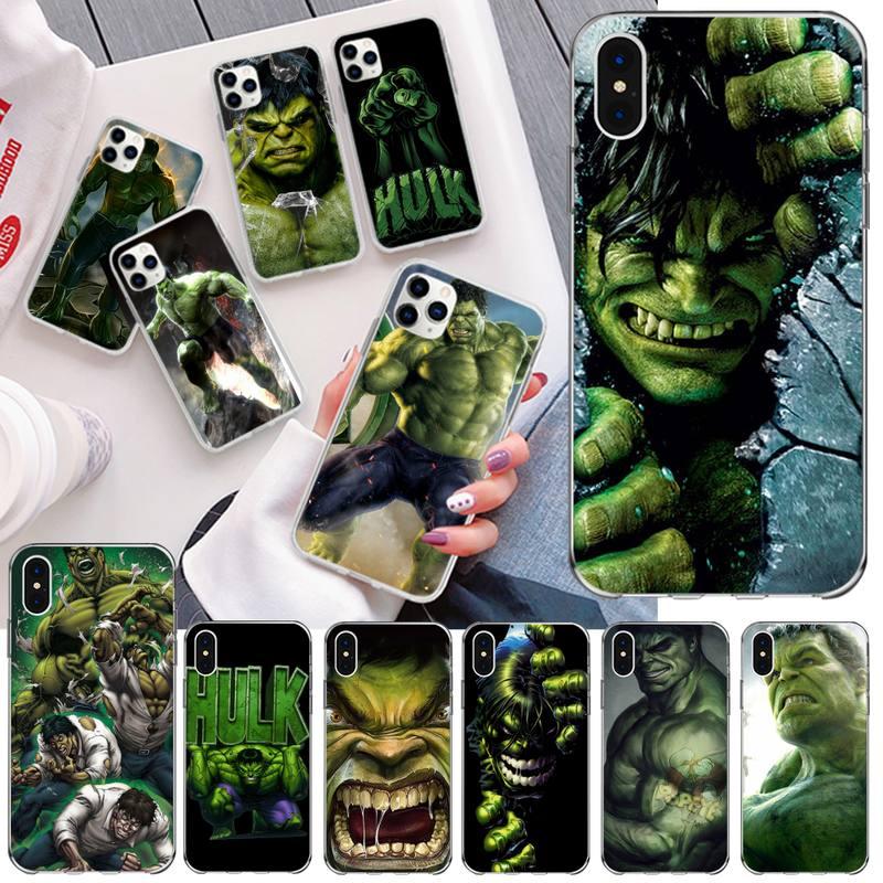 Чехол для телефона Marvel Comics, чехол для iPhone 11 pro, XS MAX, 8, 7, 6, 6S Plus, X, 6, SE, 2020, XR