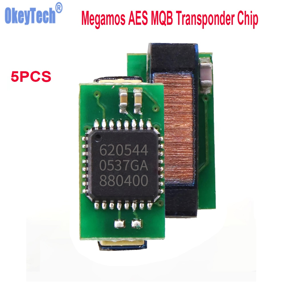 Okeytech أعلى جودة 5 قطعة أحدث Megamos AES MQB شريحة جهاز إرسال واستقبال لشركة فولكس فاجن فولكس فاجن لأودي لشركة فيات MQB مفتاح السيارة رقاقة