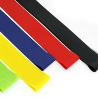 yoga resistance bands stretching rubber loop exercise fitness equipment strength training body pilates strength training