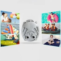 air step foot pump inflatable multifunction raft bellows double action outdoor kayak air bed swimming pool ring manual pump
