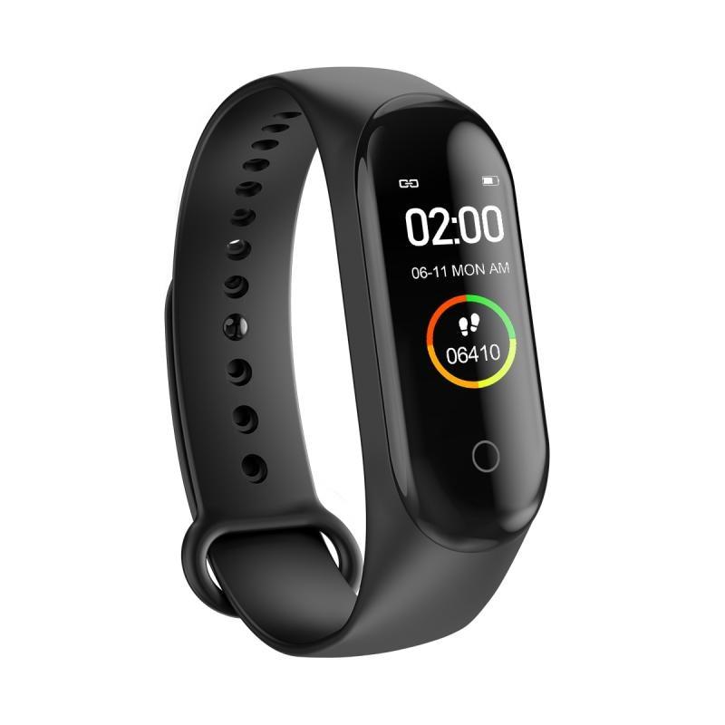 M4 Smart Band Wristband Blood Pressure Heart Rate Monitor Pedometer Sports Bracelet Health Fitness B
