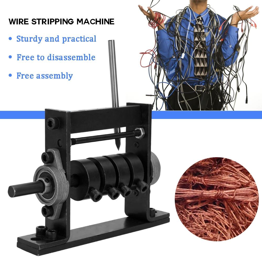 آلة تقشير أسلاك يدوية الخردة كابل كابل-قطاع 1-30 مللي متر ماكينة تجريد أسلاك الأسلاك تسخير أدوات يدوية دروبشيبينغ