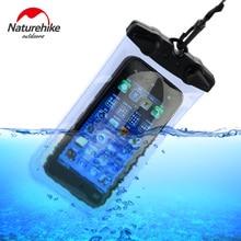 Naturetrekking étui de téléphone étanche sac en PVC étui pochette étuis de téléphone pour iPhone/Samsung/millet/huawei/meizu/HTC/XIAOMI sac de natation