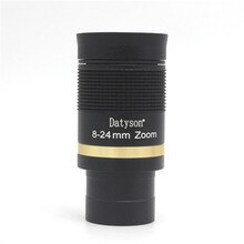 Accesorios para telescopio Datyson 8-24mm Zoom Banda ancha verde película con cristal ocular óptico Full Metal Zoom continuo