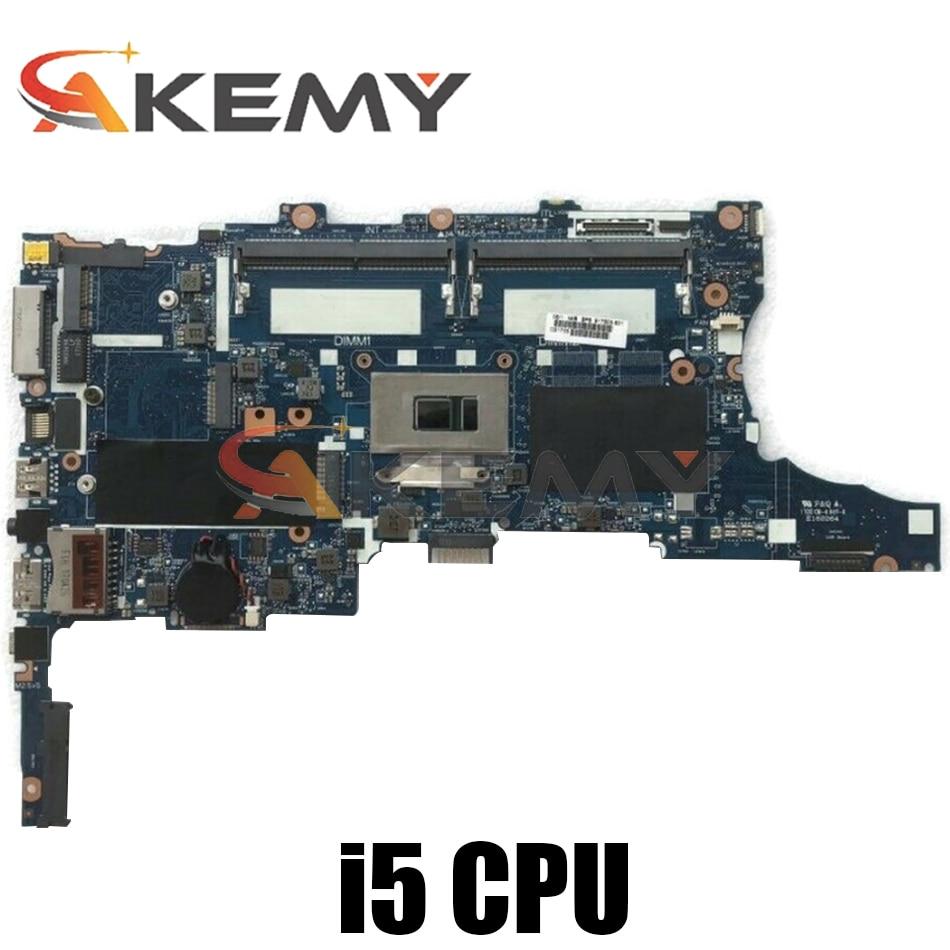 Akemy لوحدة المعالجة المركزية. اللوحة الأم للكمبيوتر المحمول I5.6300U HP EliteBook 840 G3, اللوحة الأم للكمبيوتر المحمول 6050a2892401-mb-a01 اختبار Ok شحن سريع