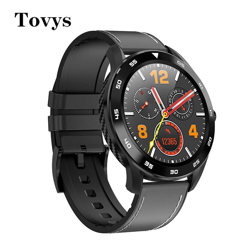 DT98 Smartwatch 1.3 بوصة شاشة كاملة اللمس IP68 مقاوم للماء ECG كشف جهاز مراقبة اللياقة الرياضية سوار معصمه ساعة ذكية