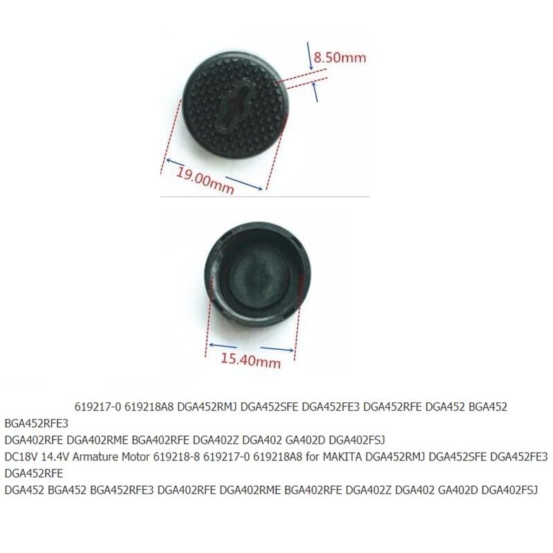 Brush Holder+Caps+Cover+Brushes+Armature for MAKITA CB430 BGA450 BGA452 DGA452 DGA452RMJ DGA452SFE DGA452FE3 DGA452RFE