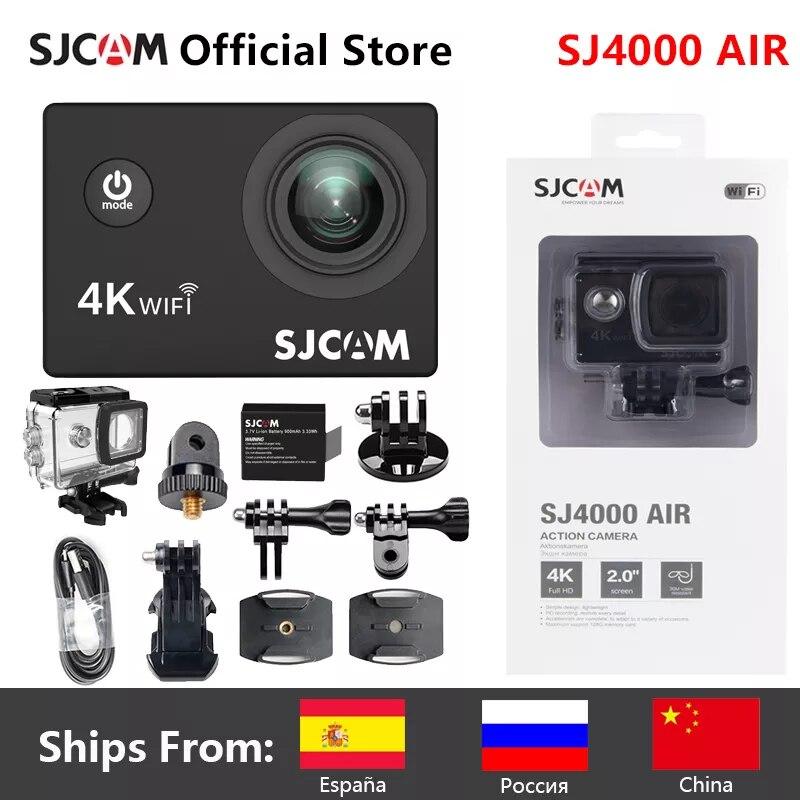 الأصلي SJCAM SJ4000 الهواء 4K عمل كاميرا كامل HD Allwinner 4K 30FPS واي فاي 2.0