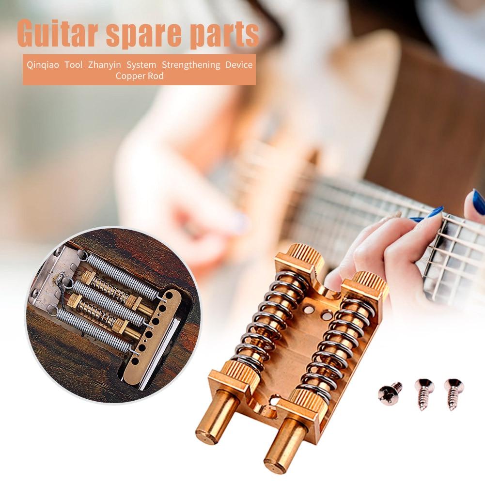 Sistema de tremolo da guitarra elétrica primavera estabilizador instrumento musical ponte acessórios peças para fender wilkinson kahler ibanez