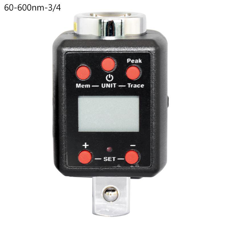 Digital de alta par llave 1,5-1000nm adaptador 1/4, 3/8, 1/2, 3/4 unidad Microtorque H7EE