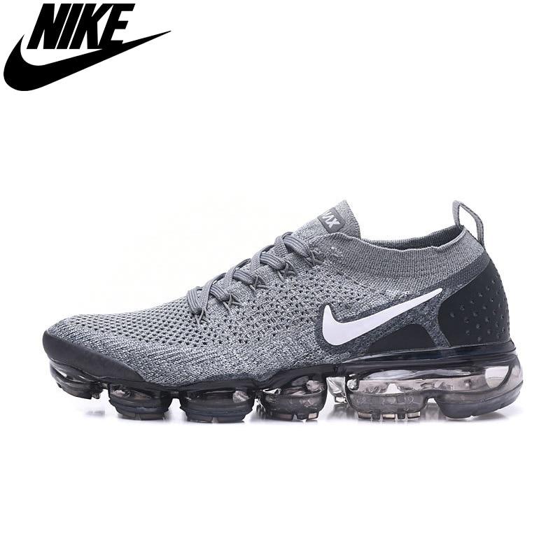 Schnike ar vapormax flyknit 2 chaussures de curso homme, respirante esportes plein ar, athlétique, bonne qualité, pneu40-45
