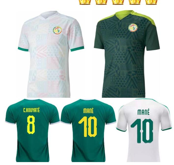 top 2020 2021 Senegal national MANE KOULIBALY GUEYE KOUYATE SARR homme Maillot de Shirts Casual T-Sh