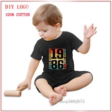 32th Birthday Shirt, Awesome Since 1986 Funny Gift Idea Unisex Short Sleeve Baby Clothes baby Kids B