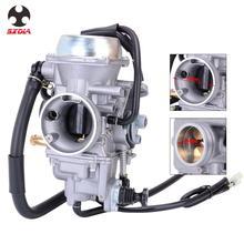 Carburador de motor de aluminio de 36MM para motocicleta carburador en línea de combustible para Honda ATV Forster 500 TRX500FE TRX500FM 4X4 2005 -2011 05-11