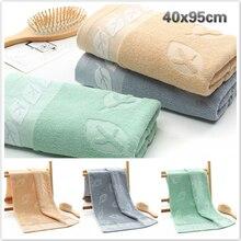 40x95cm hoja de algodón patrón viajes de casa alargar Toalla de baño bata Beach Yoga toalla regalo