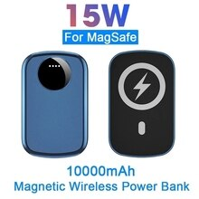 Powerbank For magsafe Wireless Power Bank charging For apple iphone 12promax mini External Auxiliary