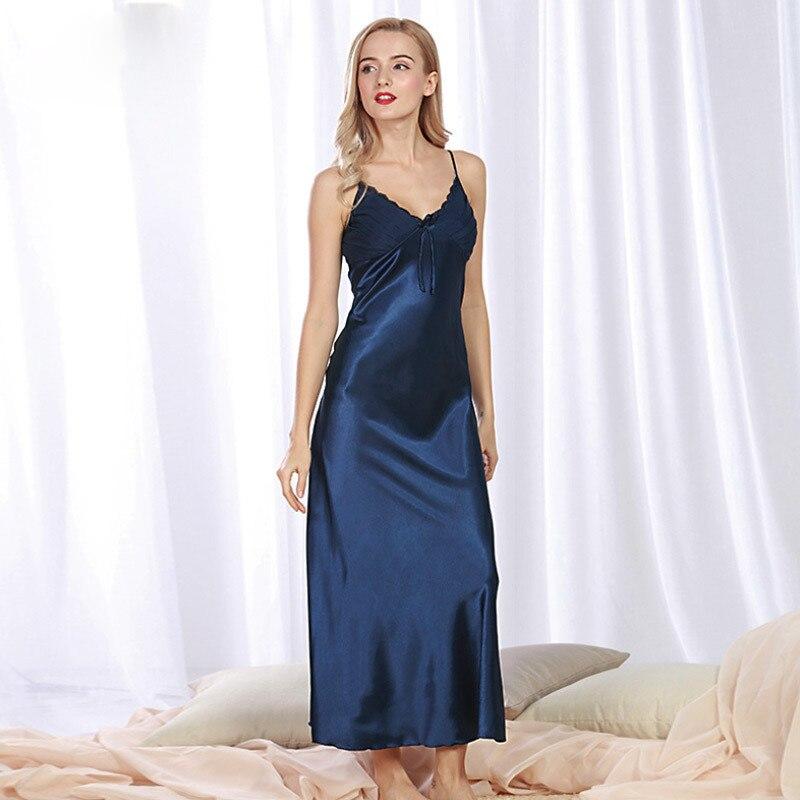 2021 BLAC night dress women  nightgown  night wear