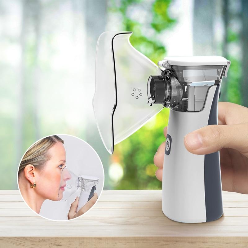 Newest Medical Portable Nebulizer Usb Mini Handheld Ultrasonic Asthma Atomizer Liquid Medicine Inhal