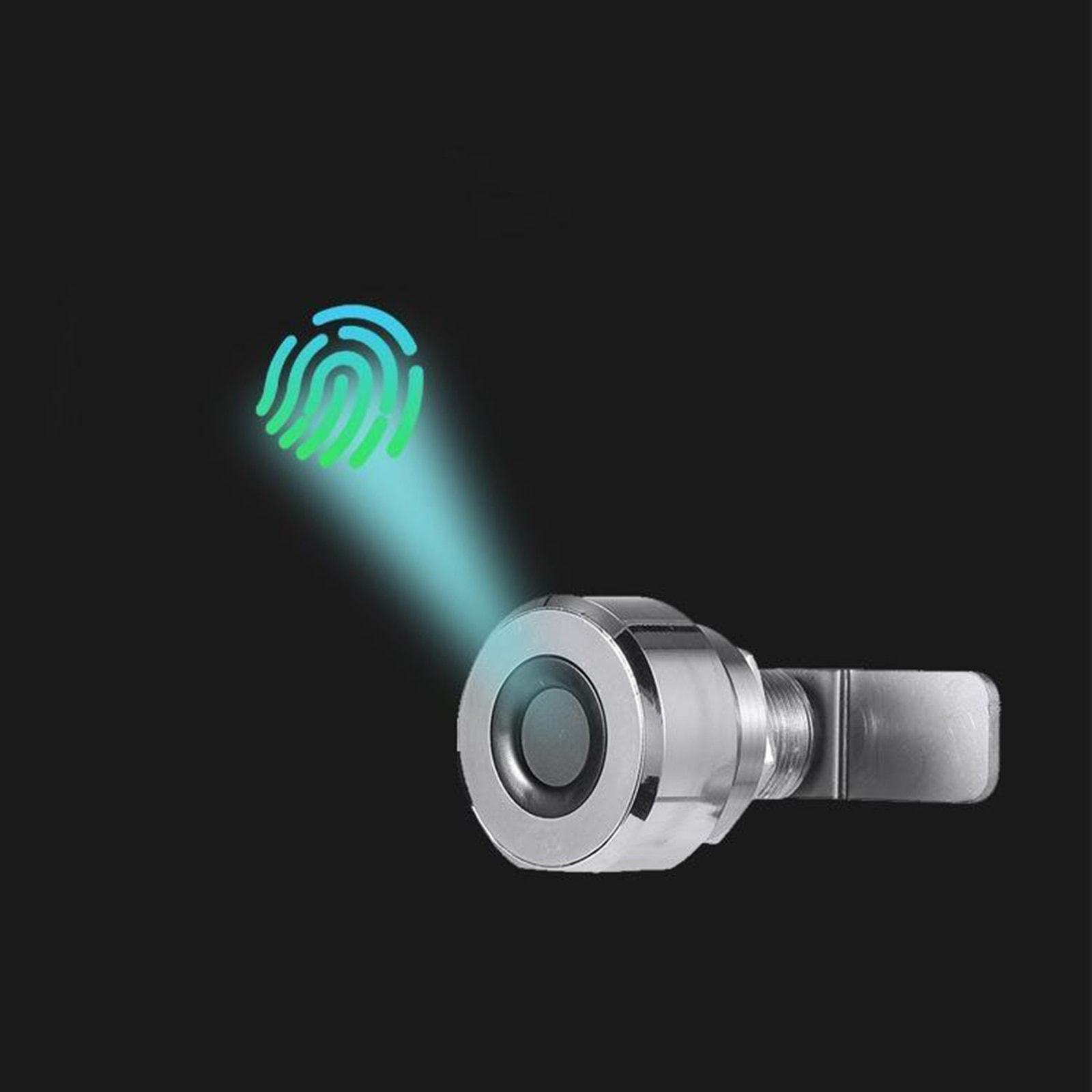 USB قابلة للشحن قفل خزانة إلكتروني قفل ببصمة الأصبع خزانة مخفية لتقوم بها بنفسك تناسب خزانة درج خشبية ، درج ، خزانة خذاء