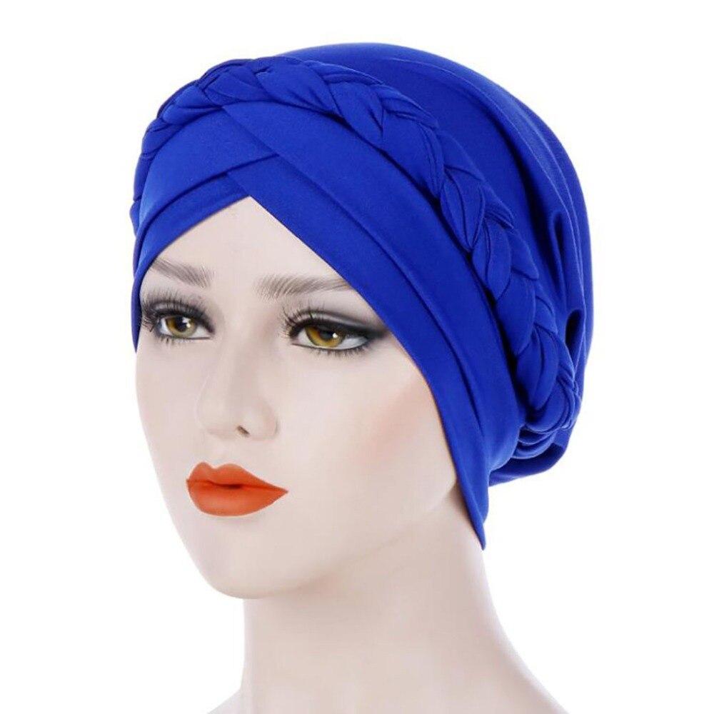 High Quality Bandanas Wrap Cap Adult Stretchable Women Flower Indian Stretch Turban Hat Chemo Cap Hair Scarf Headwrap Hoofdkap