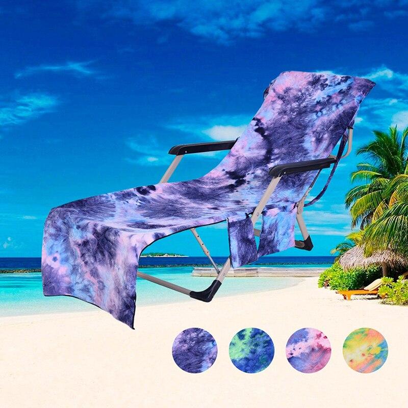 حمامات الشمس 210x75 سنتيمتر ، كرسي استرخاء ، منشفة شاطئ مصبوغة ، عطلة ، حديقة