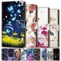 flip leather wallet case for xiaomi redmi k40 k30 k20 pro funda on xiaomi redmi k30 ultra 9c nfc go 9a 8a 7a 6a book cute cover