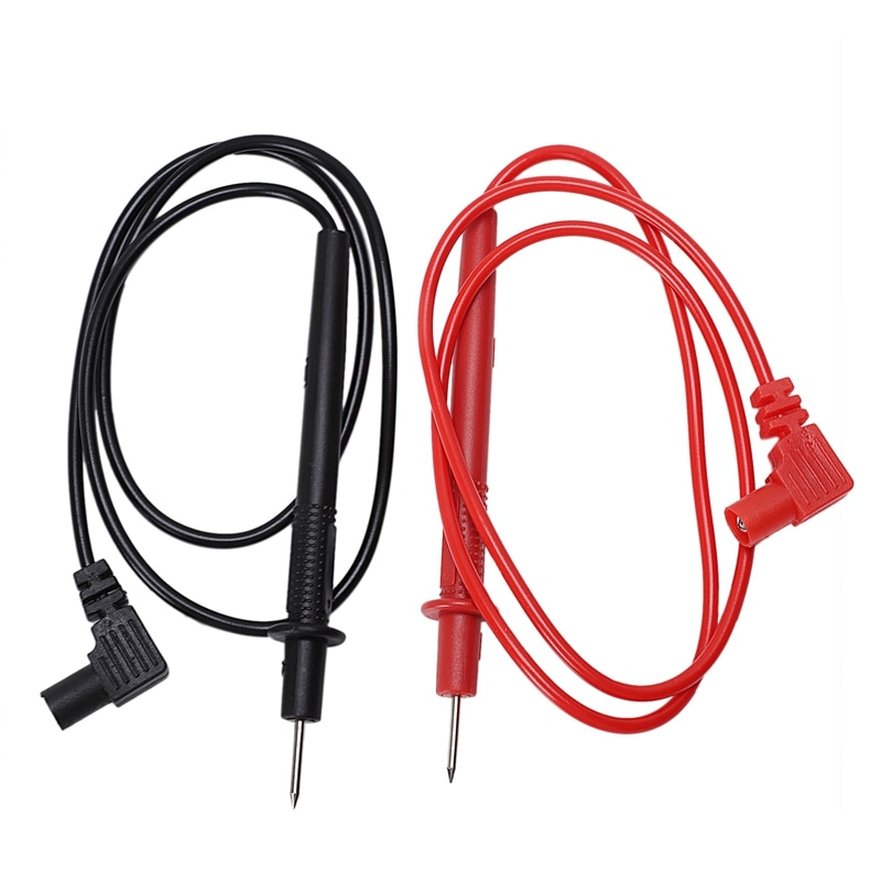 Cables/sondas de prueba rojos y negros de repuesto de 70cm para multímetro Digital