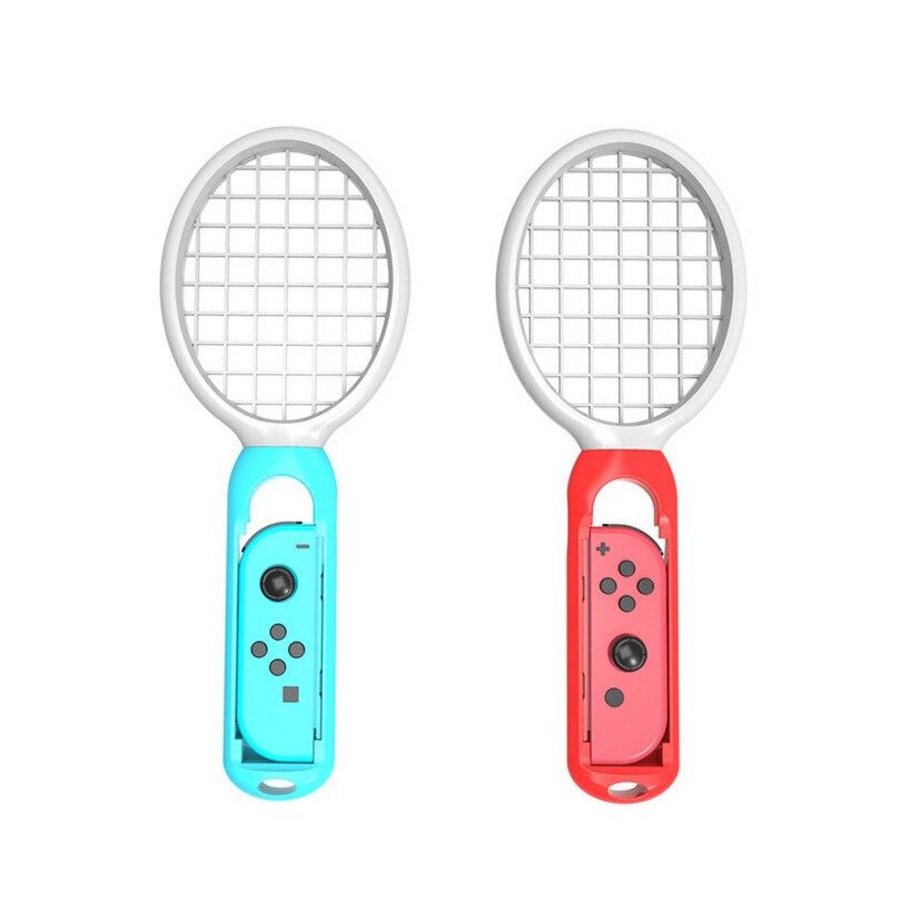 Un par de raquetas de tenis para Nintend Switch Joy-Con controlador de izquierda y derecha para M ario Tennis Aces accesorios para juegos NS r25