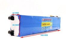 Batterie Rechargeable 36V, 14ah, pour vélo électrique et téléphone portable Xiaomi Mijia M365, 100% mAh