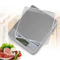 lcd digital scales grams 0 010 1g precision weight balance for tea baking weighing scale mini electronic scale with 2 trays