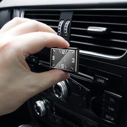 Relógio digital automotivo, mini relógio digital automotivo, mecânico, de quartzo, acessórios para presente, 1 peça