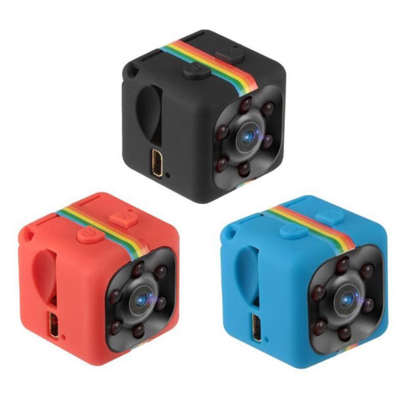 For SQ11 Mini Camera 960P 140 Degree View Small Cam Sensor Night Vision Camcorder Micro Video Camera