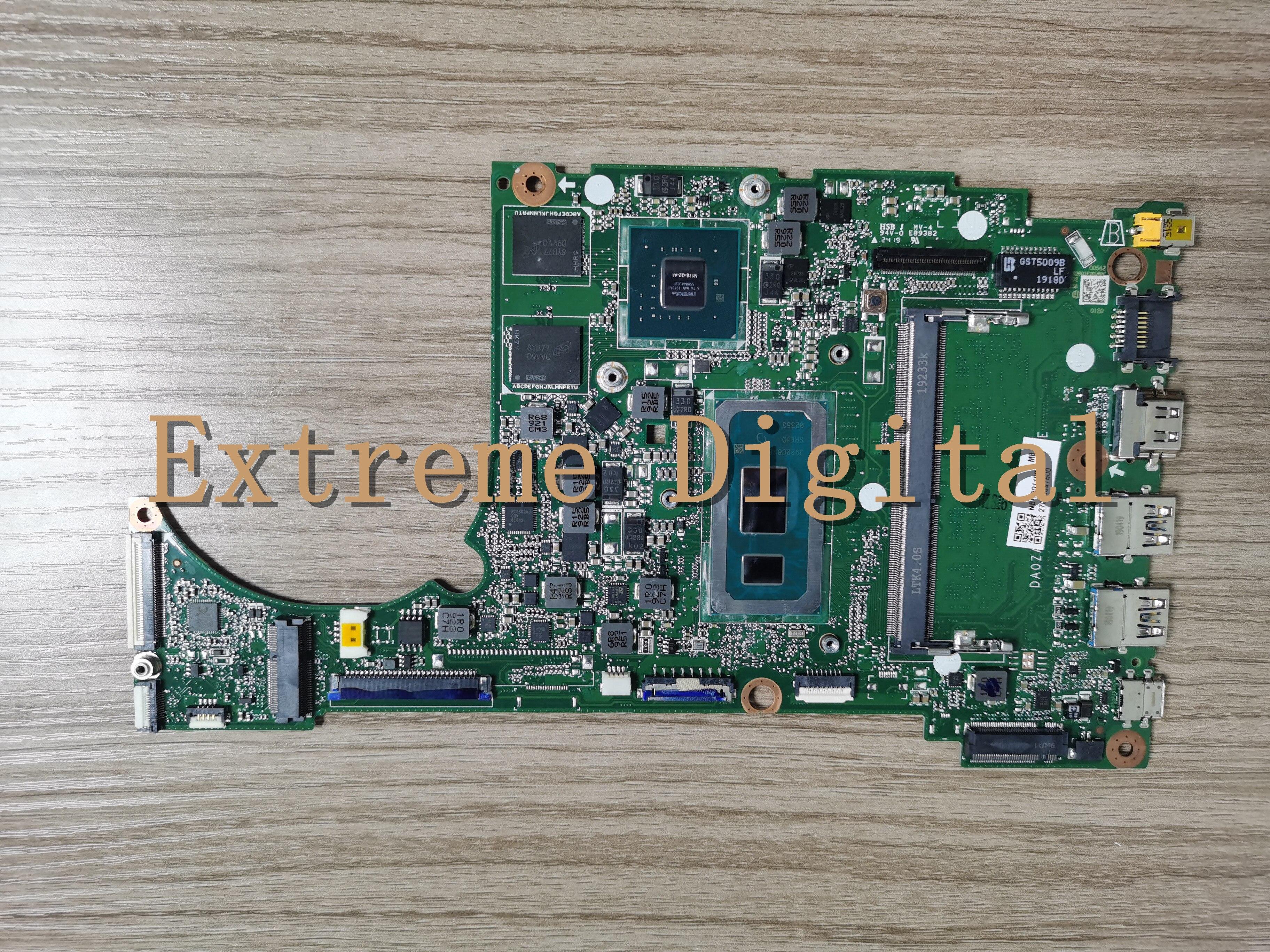 DA0ZAWMB8E0 Para ACER ASPIRE 5 A515-54 A315-55G NBHDG110019 motherboard com i5-8265U N17S-G2 2G laptop motherboard 100% testado