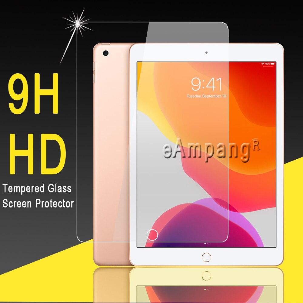 Vidro temperado para apple ipad 10.2 2019 protetor de tela 0.3mm 9 h hd filme de vidro temperado para ipad 7 7th geração a2200 a2198