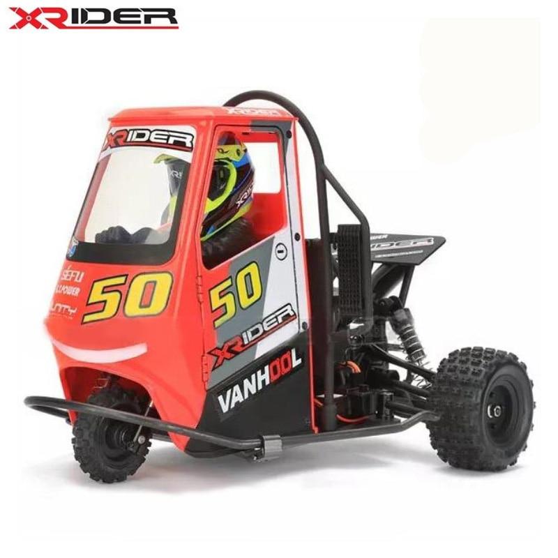 سيارة RC بوحدة تحكم عن بعد 2.4G X-Rider 1/8 Piaggio Ape 1:8 2WD أطفال ببطارية سيارات الانجراف RTR