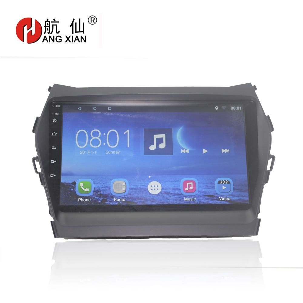 "Bway 9"" 2 din Car radio for Hyundai IX45 SANTA FE 2013 Quadcore Android 7.0.1 car dvd gps player with 1G RAM,16G iNand"
