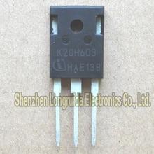10 шт. K20H603 IKW20N60H3-247 IGBT транзистор 20A 600V
